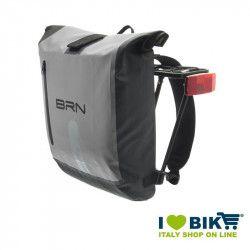 Borsa / Zaino BRN Danubio grigia Waterproof accessori bicicletta