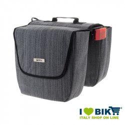 Rear bags BRN London City Grey bike store