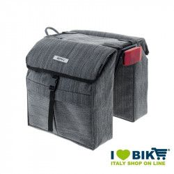 Rear bags BRN London Town Grey bike store