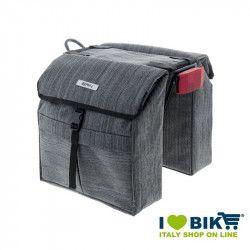 Rear bags BRN London Town Grey bike store