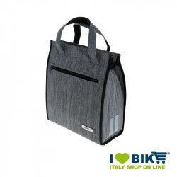 Borsa posteriore BRN London Shopper Grigia bike shop