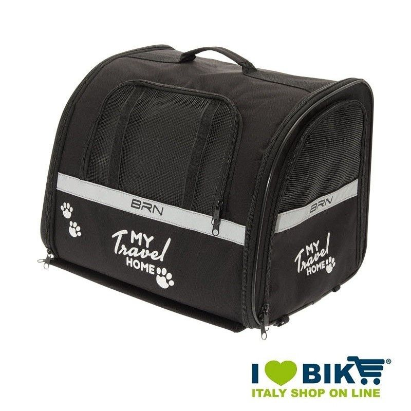 Cesto bici BRN My Travel Home per trasporto animali bike store