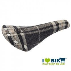 Saddle BRN Canvas black man bike store