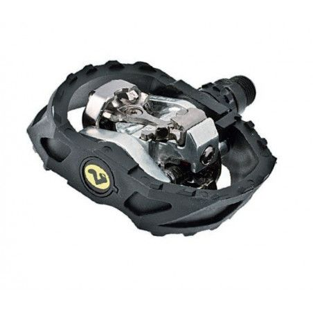 Couple of MTB Pedals Shimano M 424 with pivot bearings