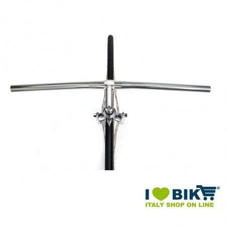 aluminum handlebars MTB silver