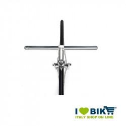 Manubrio bici fixed Flat in alluminio cromato online shop