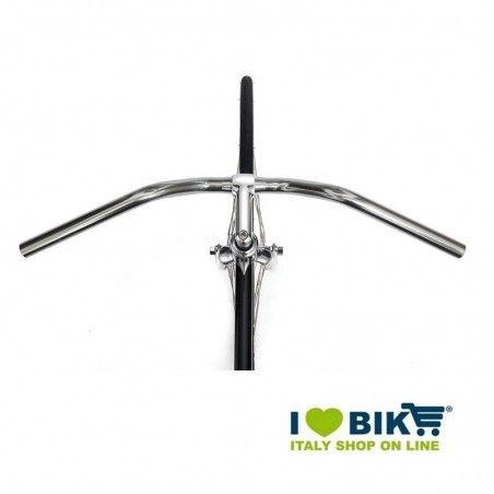aluminum handlebars silver-Bike City
