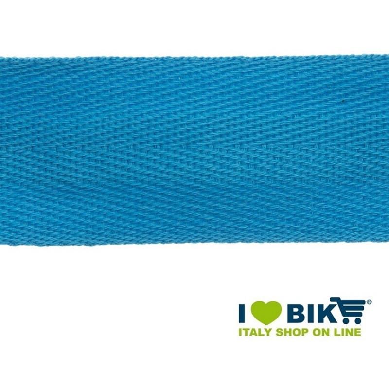 Nastro manubrio per bicicletta corsa BRN in cotone azzurro online shop