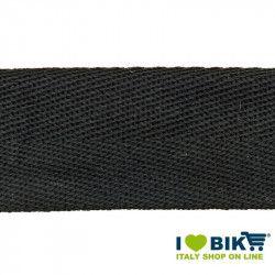 Nastro manubrio per bicicletta corsa BRN in cotone nero online shop