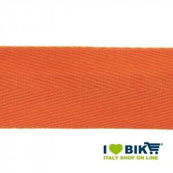 Nastro manubrio per bicicletta corsa BRN in cotone arancio online shop