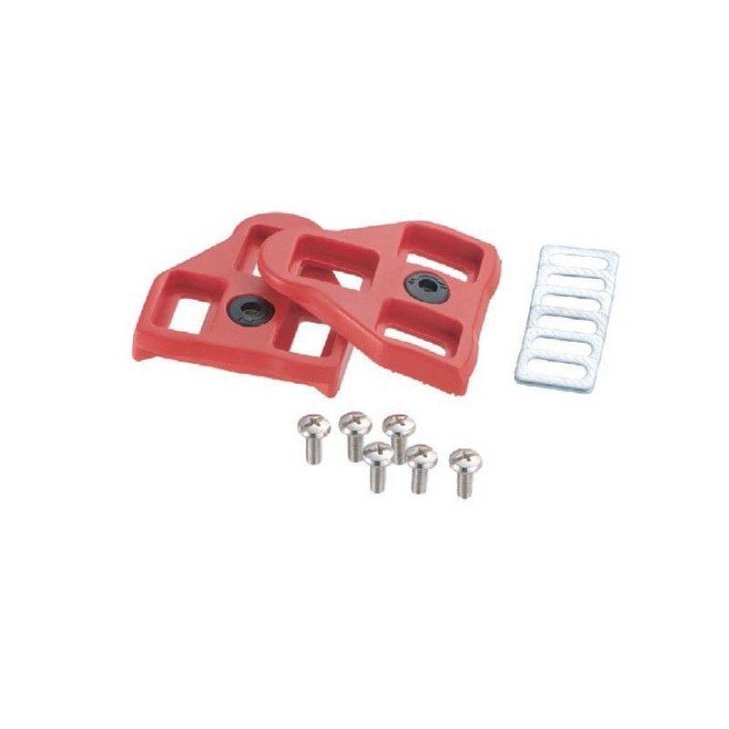 Look Delta type red adjustable cleats 9 Look - 1