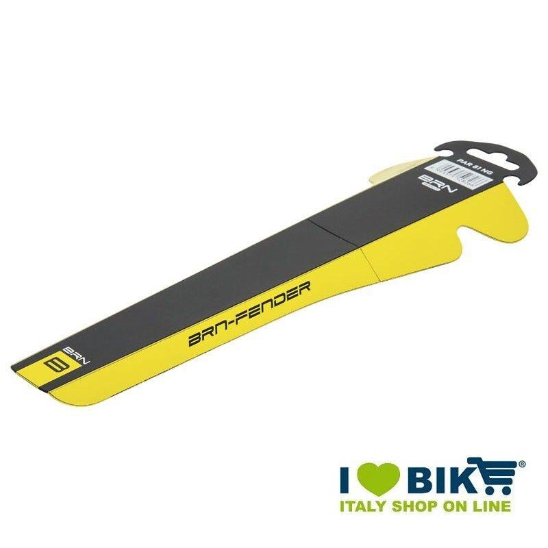 Parafango bicicletta BRN Fender corsa nero-giallo online shop