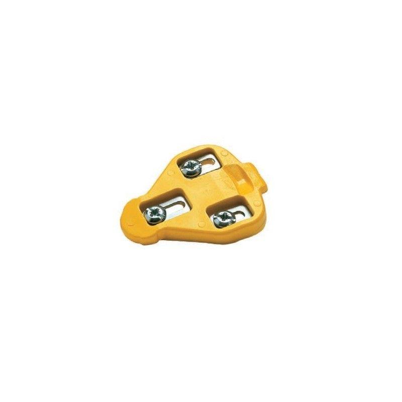 yellow cleats Miche fixed Miche - 1