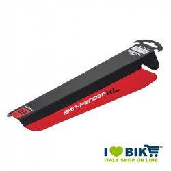 Parafango bicicletta MTB BRN Fender XL nero-rosso online shop