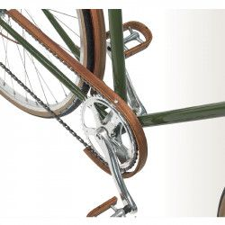 Carter in legno d'ulivo bicicletta guarnitura semplice 42-46 denti online shop