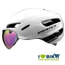 Casco per bici da corsa BRN Magnetic III bianco online shop