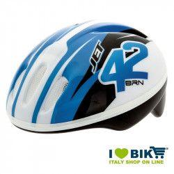 Casco per bicicletta BRN Bimbo JET blu vendita online