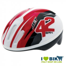 Casco per bicicletta BRN Bimbo JET rosso vendita online