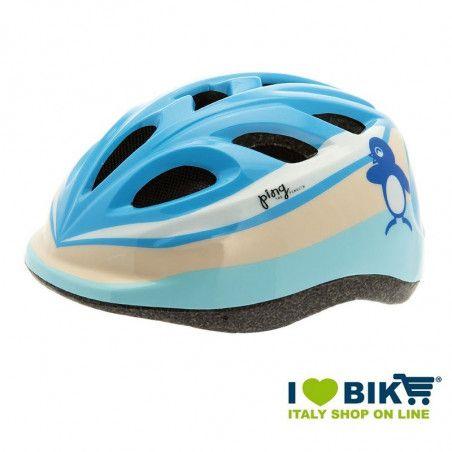 Casco per bicicletta BRN Bimbo Baby Ping azurro vendita online