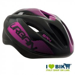 Casco per bicicletta BRN New Urban nero-rosa online shop