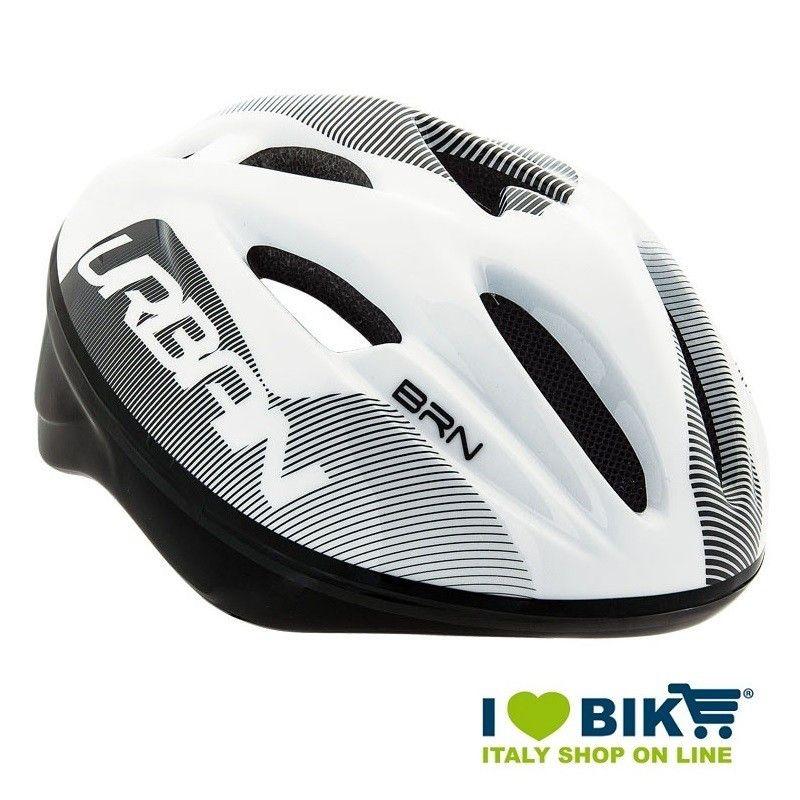Casco per bicicletta BRN New Urban bianco-nero online shop