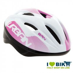 Casco per bicicletta BRN New Urban bianco-rosa online shop