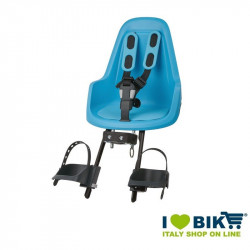 Bike child seat Bobike MINI ONE front Blue online shop