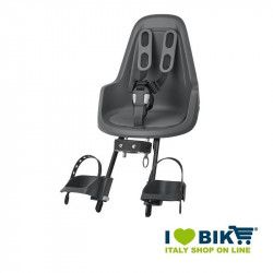 Bike child seat Bobike MINI ONE front gray online shop