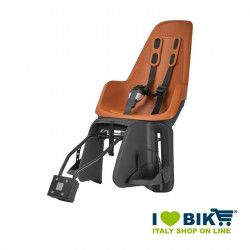 Bike child seat Bobike MAXI ONE rear brown bike shop