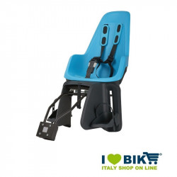 Bike child seat Bobike MAXI ONE rear blue bike shop