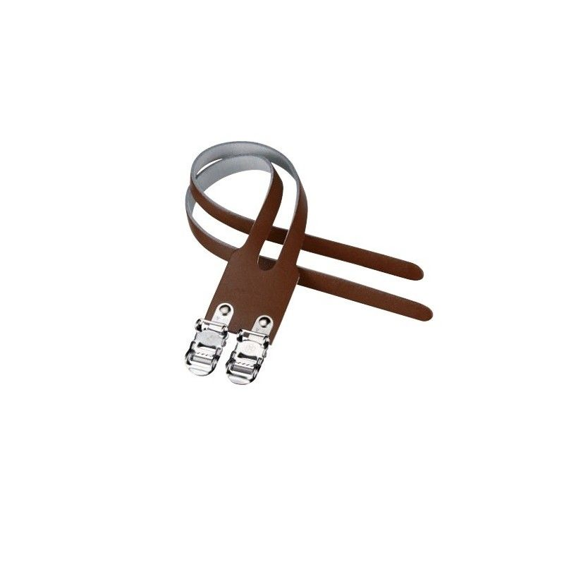 Double Leather Straps brown