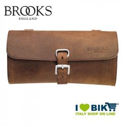 Saddle bag Brooks Challenge Large leather Aged bike store