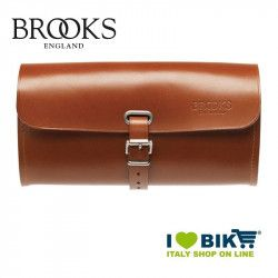Saddle bag Brooks Challenge Large leather honey bike store