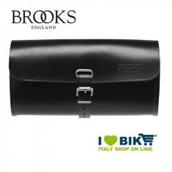 Saddle bag Brooks Challenge Large leather black bike store