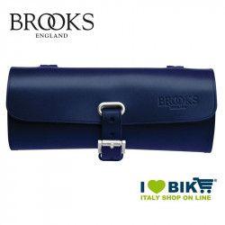 Borsetta sottosella bicicletta Brooks Challenge Small blu online shop