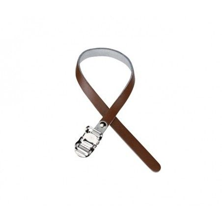 Simple Leather Strap brown