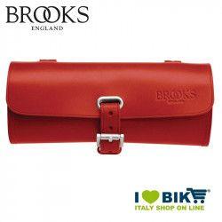 Borsetta sottosella bicicletta Brooks Challenge Small rossa online shop