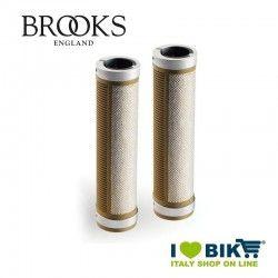 Manopole per bicicletta vintage Brooks Cambium 130 millimetri naturale online shop