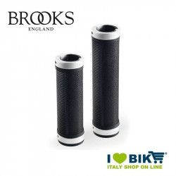 Manopole per bicicletta vintage Brooks Cambium nere  per cambio online shop