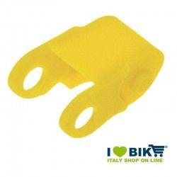 Copricatena per biciclette ad incastro in plastica giallo online shop