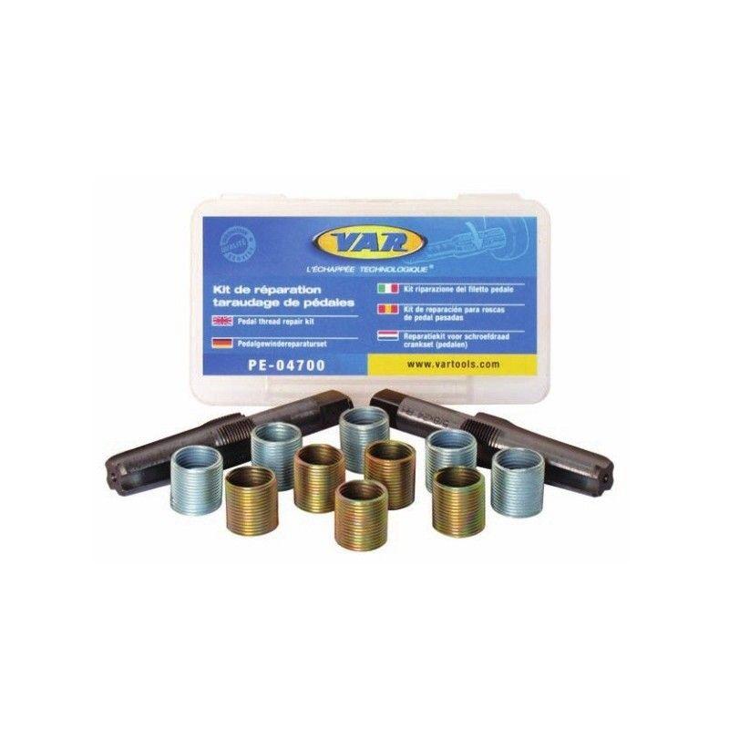 pedal thread repair kit with step 5/8 X24 TPI BRN - 1