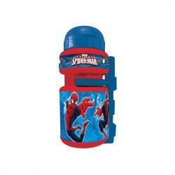 Spider-Man canteen with bottle cage