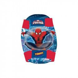 Kit protective elbow pads and knee pads Spider-Man