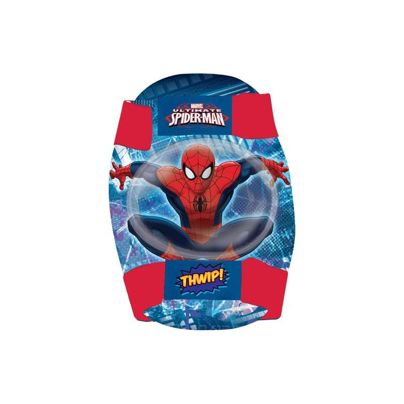 Kit protection elbow and knee bicycles Spider-Man online shop