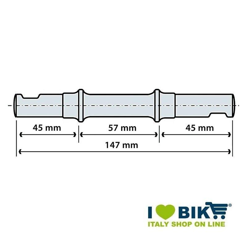 Perno movimento centrale a chiavella BRN - 1