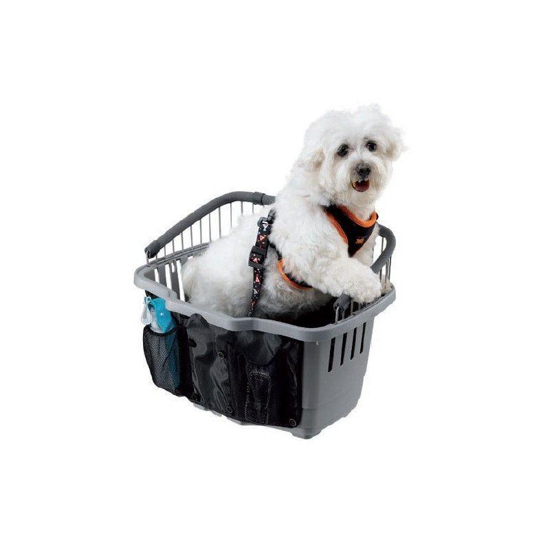 Basket for animal transport capacity 15 Kg BRN - 1