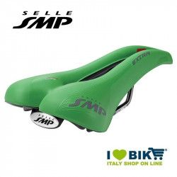 Saddle SMP trekking bike Extra Bandiera Green bike shop