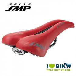 Saddle SMP trekking bike Extra red bike shop