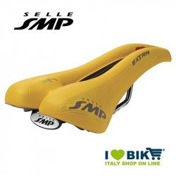 Saddle SMP trekking bike Extra yellow bike shop