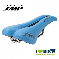 Saddle SMP trekking bike Extra Light Blue bike shop